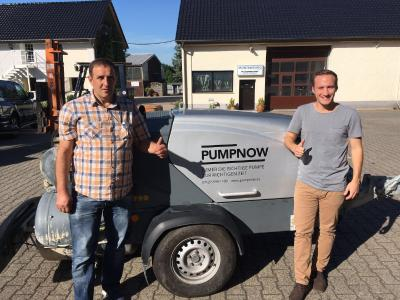 The first customers using PumpNow