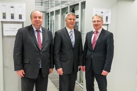 Energieeffizientes Rechenzentrum für Energieversorger eingeweiht