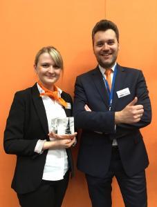 Anne Funke und Thomas Gründling (Leiter Recruiting)