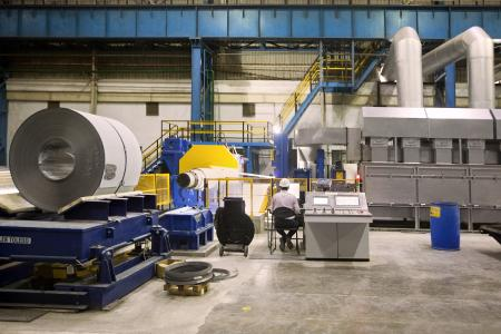 Elektroband spielt eine Schlüsselrolle in der Energiewende: In Indien hat thyssenkrupp als erster Hersteller der anspruchsvollen Stahlsorte eine neue Produktionsanlage in Betrieb genommen