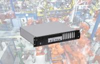19 Zoll Industrie PC Magnius®-SID Frontload mit 2HE und frontseitig zugänglichen Schnittstellen