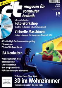 Das Titelbild der aktuellen c't-Ausgabe 19/2010