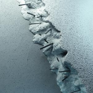 Hightech an der Hauswand: Carbonfasern im Spachtel eines Caparol-Dämmsystems machen die Fassadenoberfläche elastisch und damit stabil gegen äußere Belastungen, Foto: Caparol Farben Lacke Bautenschutz
