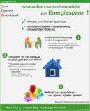 Wohngebäude-Energieberatung: Heizkosten senken, Umwelt schützen