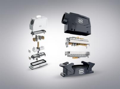 Modulare Vielfalt  - Erweiterte Gehäusevielfalt für ODU-MAC®