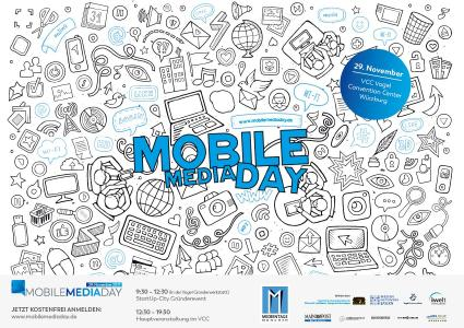 Der Mobile Media Day 2017 beantwortet Fragen, die durch Digitalisierung hervorgerufen werden. Foto: Mobile Media Day