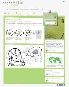 Unter www.madeingreen.com finden Verbraucher ab sofort alle wichtigen Informationen zum neuen Made in Green Label. Die neue Internetseite ist als klassische Desktop-Version und als mobile Variante für Tablets und Smartphones verfügbar