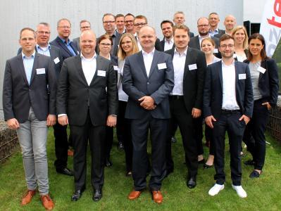 Janz Tec's IoT Solutions Partnertag: Gruppenbild