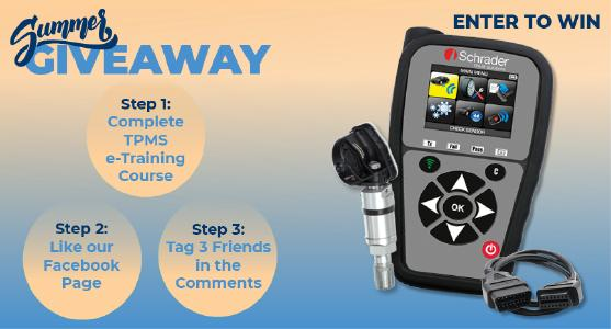 TPMS Academy Launches Summer Giveaway Contest