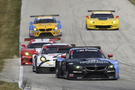 BMW Team RLL, #55 BMW Z4 GTLM, Road America