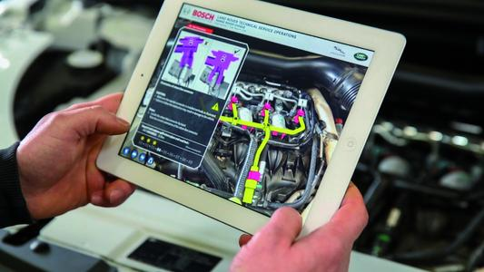 Augmented Reality turns technical documentations into digital
