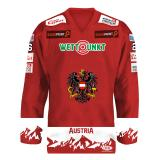 Eishockey Olympia-Qualifikation im Design Contest-Trikot