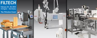 Innovative PFAFF solutions for manufacturing filters