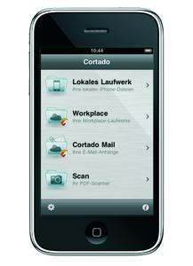 Mit Cortado Workplace können iPhone-Nutzer jetzt scannen, kopieren und drucken.