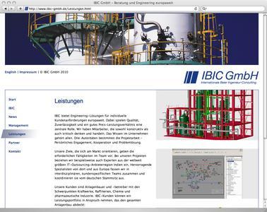IBIC Leistungen-Screen