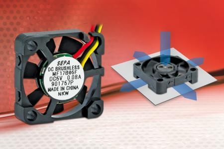 SEPA EUROPE RaAxial Lüfter MF17B Microlüfter