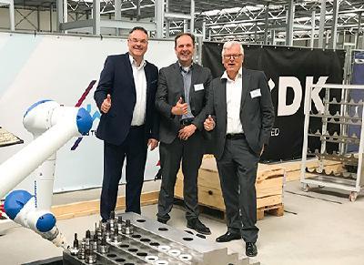 Grenzebach bringt FieldLab Eindhoven in Fahrt