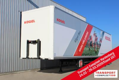 Kögel to exhibit at Transport Compleet Hardenberg 2020