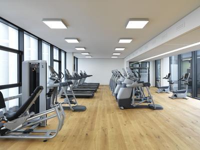Fitnessstudio im BFFT-Headquarter im Gaimersheim