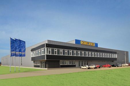Die neue GEZE-Fertigungsstätte in Zrenjanin in Serbien