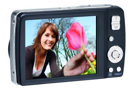 photokina 2008: Anfassen erlaubt ? AgfaPhoto Digitalkamera mit Touchscreen