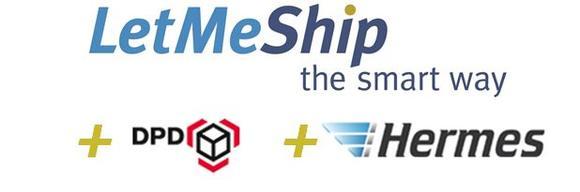 LetMeShip Online Expansion DPD Hermes