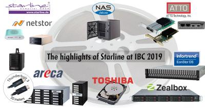 Starline on the marks: media fair IBC 2019 is coming