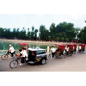 MINI Rickshaw in Beijing, Olympics 2008 (08/2008)