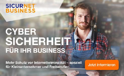 Die Lösung SICURNET® BUSINESS beinhaltet sieben Module, die alle auf mehr Sicherheit im Internet abzielen
