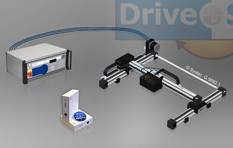 Ihr erstes zweidimensionale Linearsystem mit einem zusätzlichen Drehmodul hat die Systec GmbH vorgestellt. Das DriveSet M233R erreicht eine translatorische Geschwindigkeit von bis zu 0,4 Meter pro Sekunde und eine Winkelgeschwindigkeit von max. 240 Grad pro Sekunde (Foto: Systec GmbH)