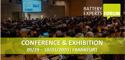 Solidarity in focus: Light + Building delayed due to coronavirus, will take place at the same time as the 2020 Battery Experts Forum