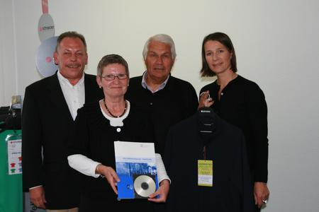 The awarding of the first Wellness Label to Schneider Sportswear OHG by the Hohenstein Institute was a cause for celebration for all concerned
