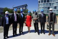 Am 23. Juli fand die feierliche Grundsteinlegung für die SKZ Modellfabrik statt