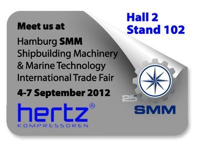 Hertz Kompressoren at SMM Hamburg 2012