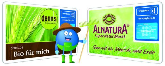 Mit Bio punkten: Bio-Supermärkte Alnatura und denn's sind neue PAYBACK-Partner