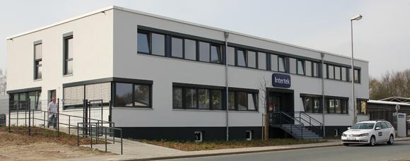 The new building of Intertek Food Services in Bremen (Germany)