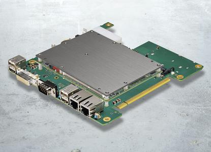 COMKit – The PC unit consists of a carrier board, a COM Express module, internal memory, and a standard cooling interface at the highest point of the system in order to offer an efficient and affordable cooling connection.