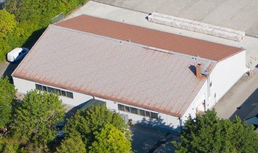 Das neue Außenlager auf dem Nachbargrundstück mit 1000m² zusätzlicher Lagerfläche