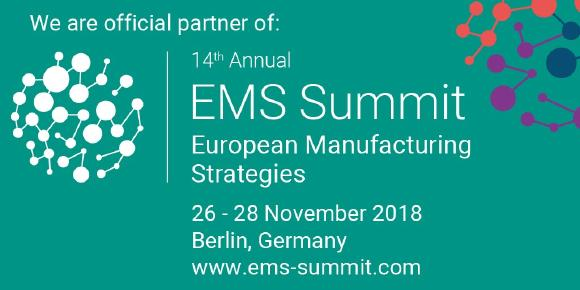ATS auf dem European Manufacturing Strategies Summit 2018