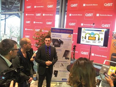 CeBIT Presspreview: DIGITTRADE präsentiert innovative Trilogie