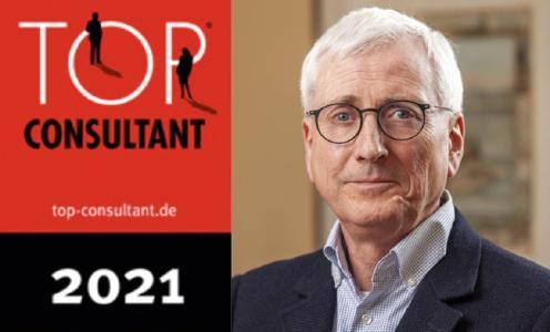 Banner mit Hanns-Peter Wiese & Top Consultant Logo