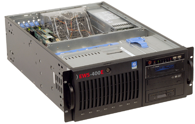 The new eyevis workstation EWS400 offers HighEnd Performance, Dedicated Hardware Decoding and Flexibility all in one.