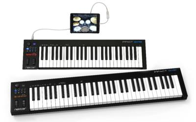 Nektar introduce new Impact GX49 and GX61 USB MIDI Controller Keyboards