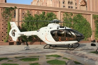 "Eurocopter and Hermès deliver to Falcon Aviation Services the first EC135 ""l'Hélicoptère par Hermès"""