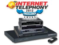 Patton Tallies Eleventh Win for SmartNode(TM)  with 2012 INTERNET TELEPHONY Excellence Award