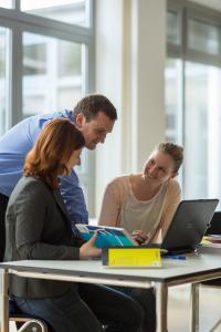 Fernstudierende an der Hochschule Ludwigshafen