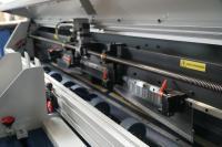 Alle Schneid- und Rillwerkzeuge in der AutoBox sind per Servoantrieb verstellbar.