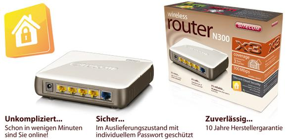 WLR-3100 Wireless Router N300 X3