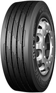 Den aufgelasteten Lkw-Reifen HSL 2 ECO-PLUS XL gibt es in den Dimension 315/60 R22.5 mit Lastindex (LI) 154 und 7,5 Tonnen Achstragfähigkeit und 315/80 R22.5 mit Lastindex (LI) 156 und 8,0 Tonnen Achstragfähigkeit