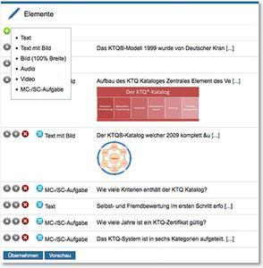Editor für responsive E-Learning-Module